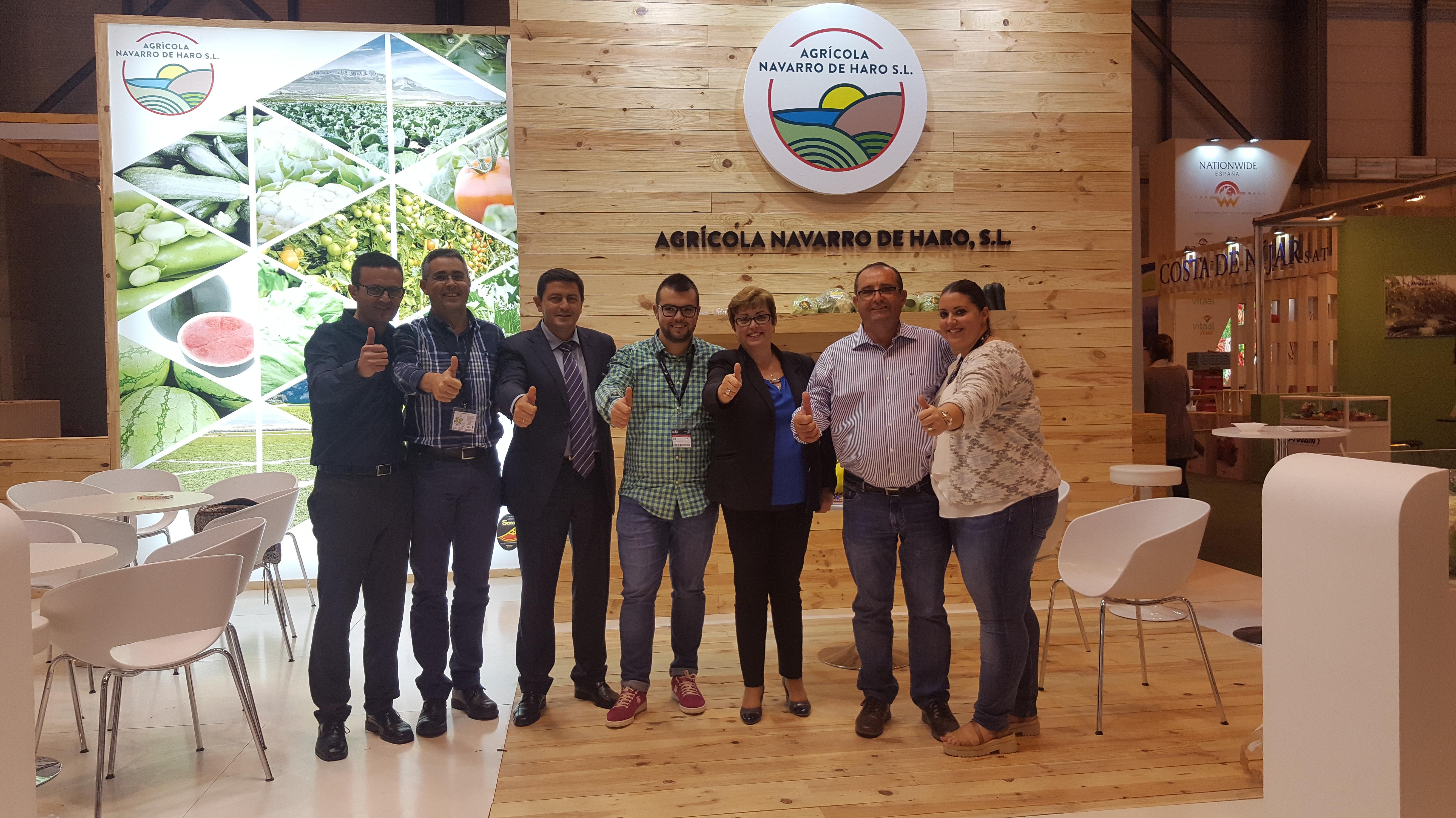 Equipo Navarro de Haro en Fruit Attraction